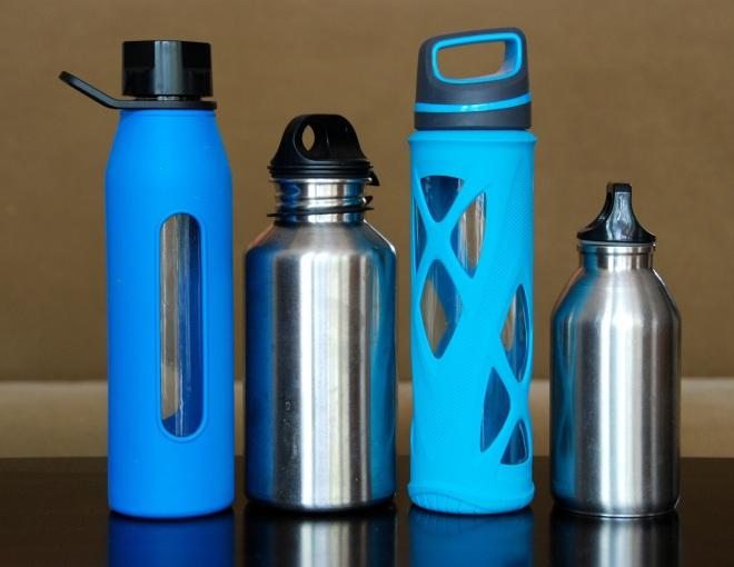 Vpliv na vodo-steklenice